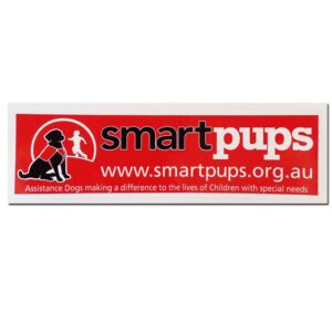 Smart Pups Bumper Sticker