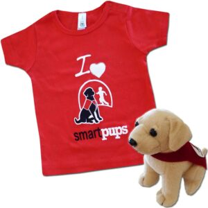 Smart Pups Infant T-Shirt and Toy Gift Set