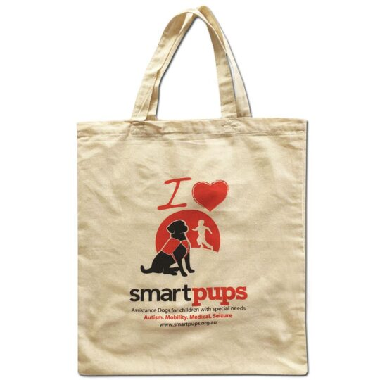 Smart Pups Calico Tote Bag
