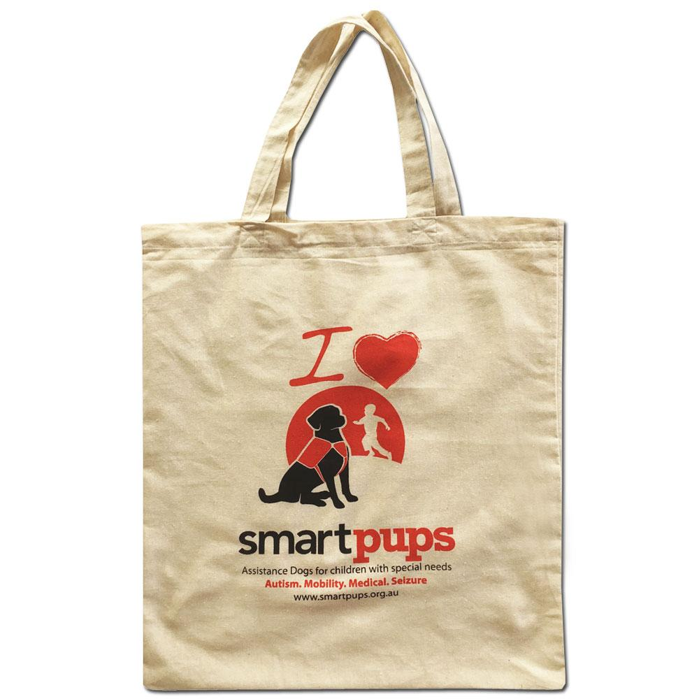 Smart Pups Calico Tote Bag