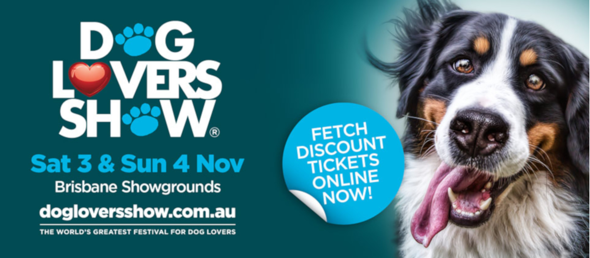 <b>Join us at the <b>Brisbane Dog Lovers Show