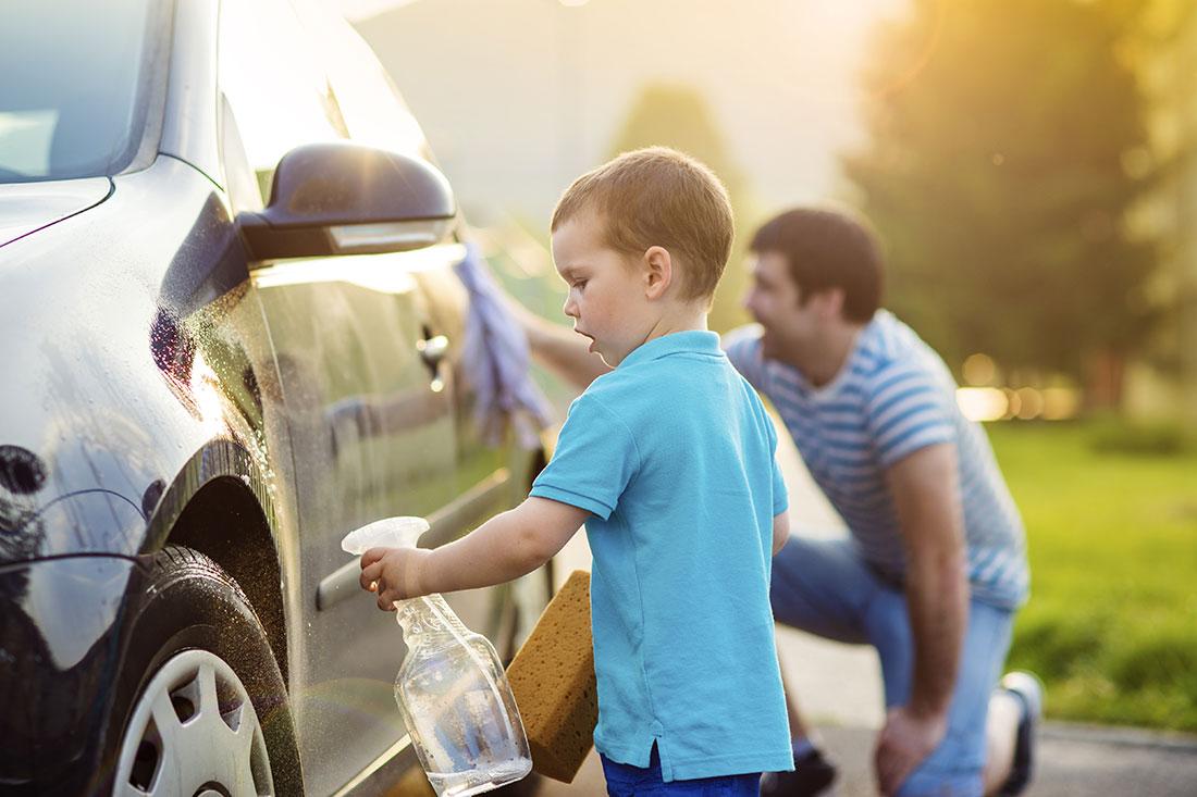 9. Car Wash Day