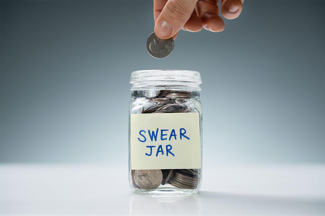 10. Setup a Swear Jar